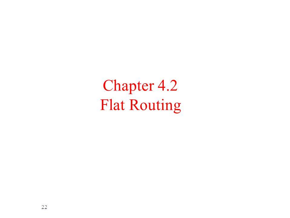 Chapter 4.2 Flat Routing 定向擴散協議[是一種基於查詢的路由機製。